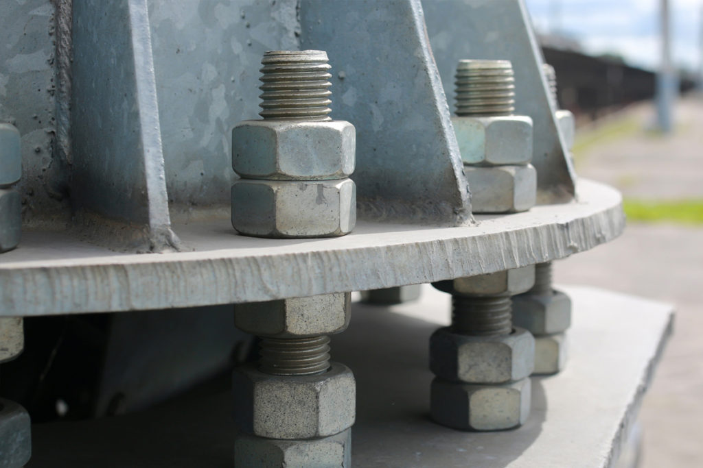 Industrial Fasteners in construction